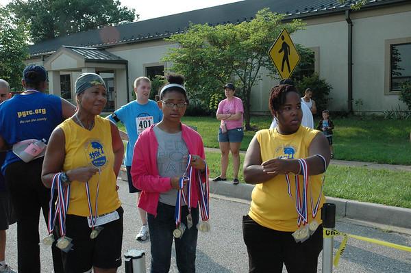 Raven Romp 5k/10k Running Start Graduation Race, August 21, 2010 at Fort Meade, MD