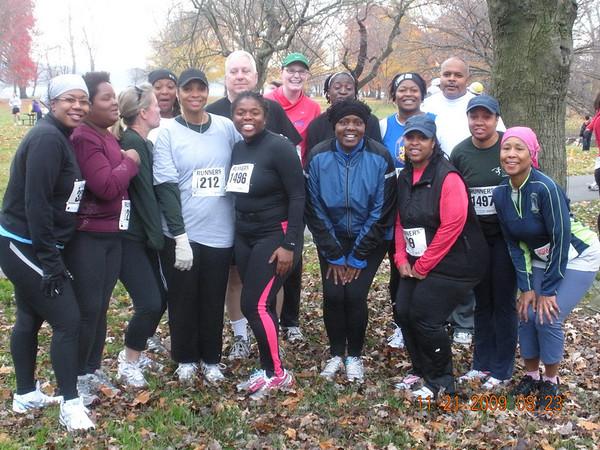 Fall 5K training group 2009